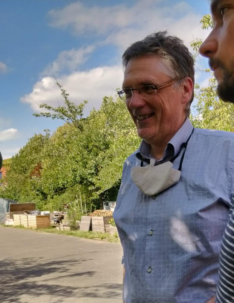 Christophe Barron, portrait d'entrepreneur, Ferme du Trichon, Roubaix
