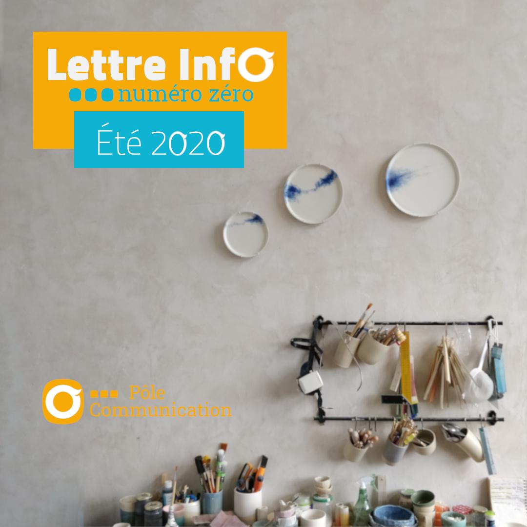 Lettre Info Numéro Zéro - Été 2020