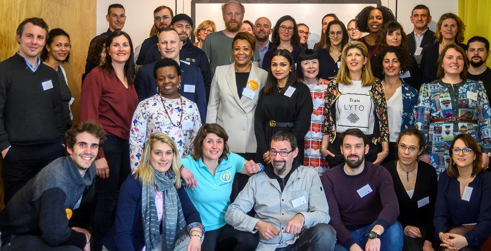 Prix Institut Randstad, Photo de groupe des 27 finalistes des CAE des Hauts-de-France