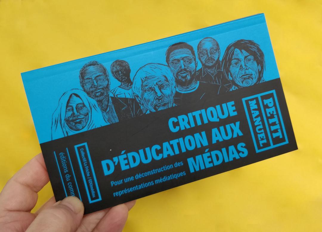 Petit Manuel Critique d'Éducation aux Médias (La Friche / EDUmédias) - couverture - (Photo : C.D. - Netalinea)