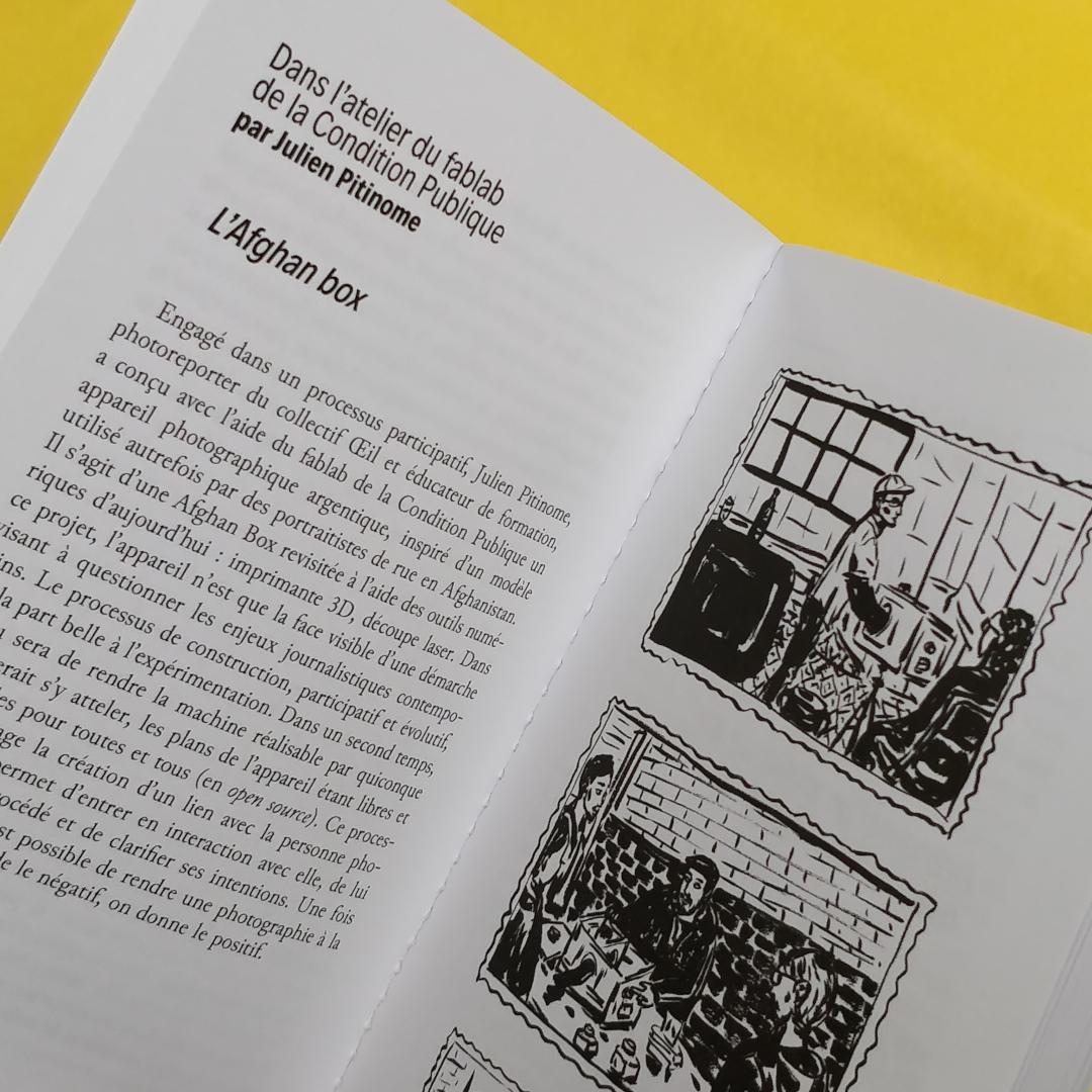 Petit Manuel Critique d'Éducation aux Médias (La Friche / EDUmédias) - L'Afghan box - (Photo : C.D. - Netalinea)