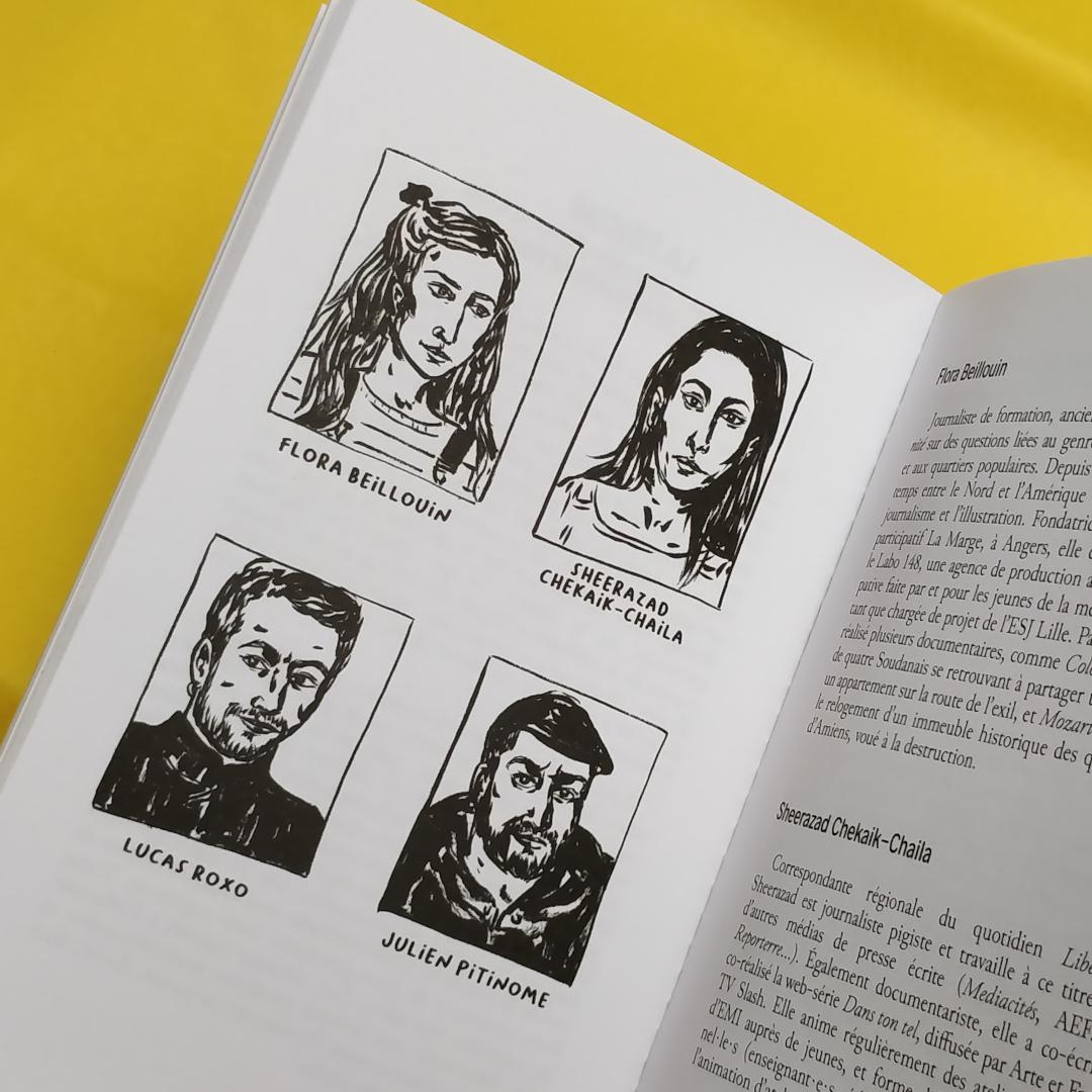 Petit Manuel Critique d'Éducation aux Médias (La Friche / EDUmédias) - Illustrations Flora Beillouin (Photo : C.D. - Netalinea)