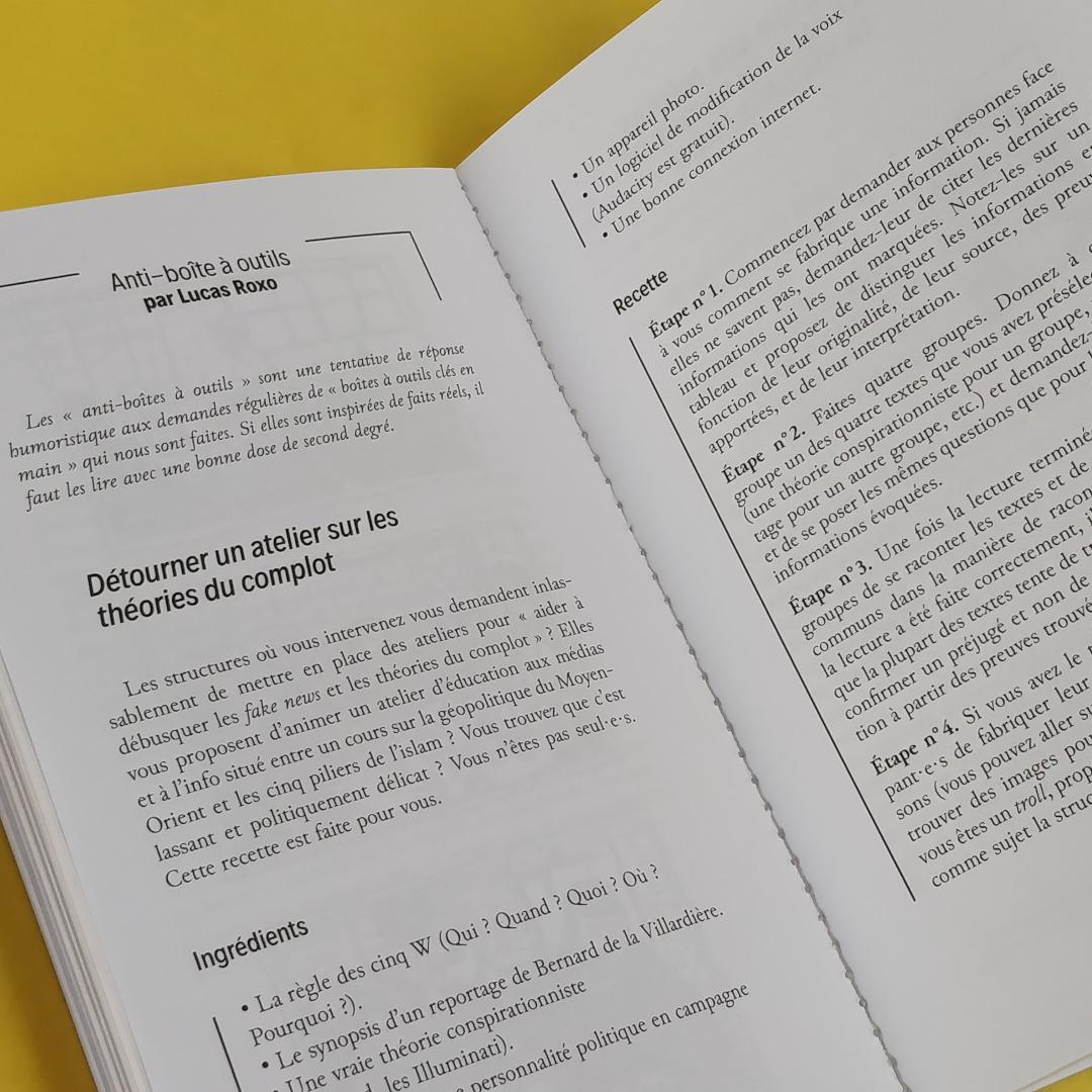 Petit Manuel Critique d'Éducation aux Médias (La Friche / EDUmédias) - L'anti-boîte à outils (Photo : C.D. - Netalinea)