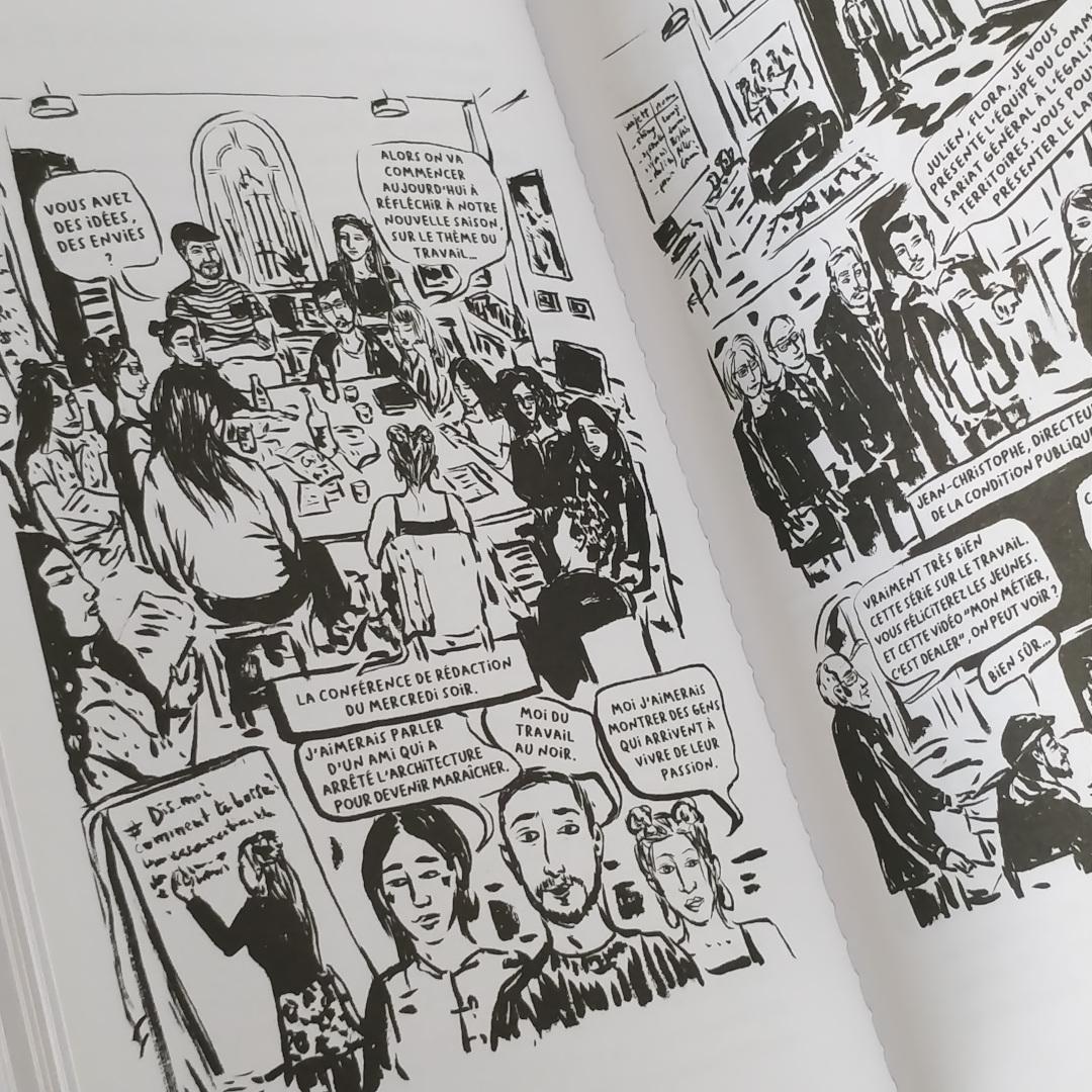 Petit Manuel Critique d'Éducation aux Médias (La Friche / EDUmédias) - Saison sur le thème du travail (Photo : C.D. - Netalinea)