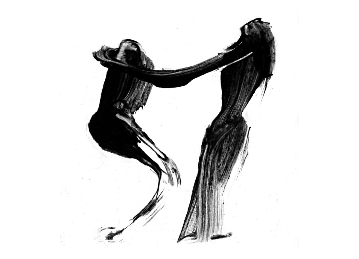 Humanités numériques, calligraphie de Frédéric Glorieux